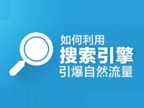 网络营销培训视频:利用搜索引擎获取自然流量的方法