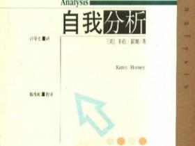 《自我分析》txt,pdf,epub,mobi电子书