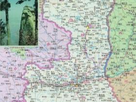 陕西省地图高清版大图