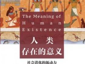 《人类存在的意义:探寻社会进化的源动力》epub+mobi+azw3电子书
