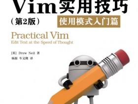 《Vim实用技巧:使用模式入门篇(第2版)》电子书