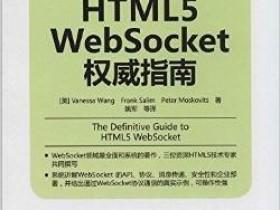 《HTML5 WebSocket权威指南》PDF电子书
