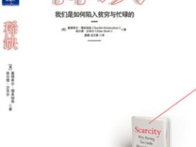 《稀缺:我们是如何陷入贫穷与忙碌的》PDF电子书
