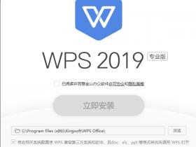 wps2019专业破解版大全,wps2019注册码,序列号