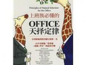 《上班族必懂的OFFICE天择定律》epub电子书