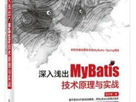《深入浅出MyBatis技术原理与实战》PDF电子书