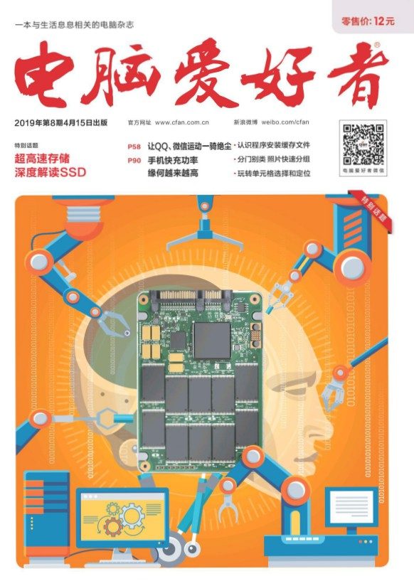 《电脑爱好者》2019年第8期PDF电子杂志