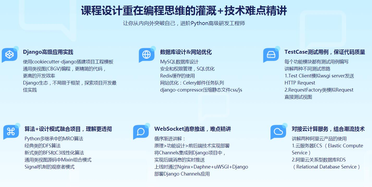 Django高级实战 开发企业级问答网站视频教程